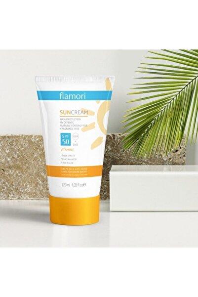 Awe Cemre Güneş Kremi, 50 Spf + Uva+ Uvb, E Vitamini, Yüz Ve Vücut Güneş Kremi