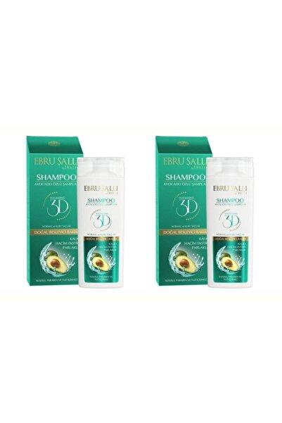 Thalia 2 Adet Ebru Şallı By Avokado Özlü Bakım Şampuanı 300 ml. Kuru Saçlar