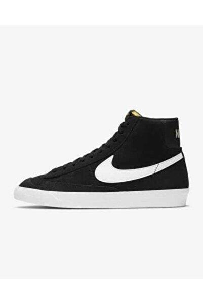 Nike Blazer Mid 77 Suet Siyah Spor Ayakkabı