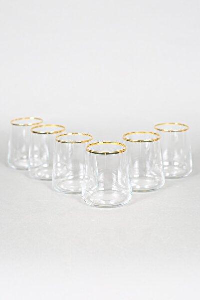 Rakle Avantgarde Gold 6'lı Su Bardağı Seti 380 Cc