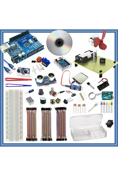 Arduino Öğreniyorum Seti Uno R3 ( Ch340 ) 46 Parça 176 Adet