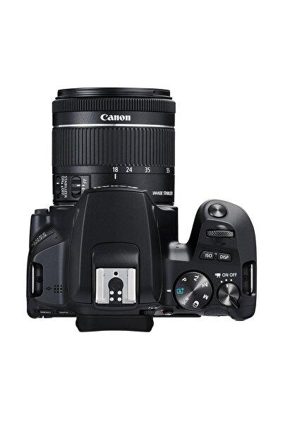 Canon EOS 250D + EF-S 18-55mm f/3.5-5.6 DC III Siyah Fotoğraf Makinesi (Canon Eurasia Garantili)