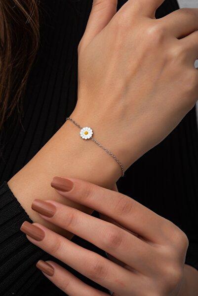 SUNSHINE Zirkon Taşlı Gümüş Trend Bileklik