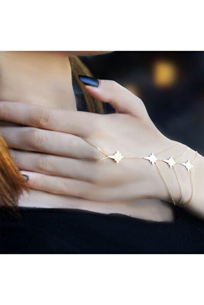 Lilarote Pırlanta Kadın Gold  14 Ayar Kutup Yıldızı Şahmeran