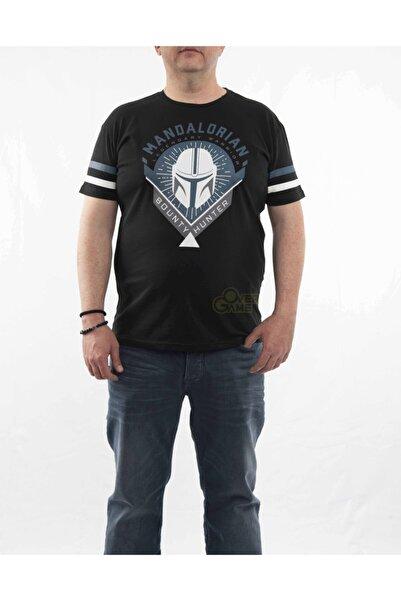 MARVEL Mandalorian Bounty Hunter Siyah T-shirt-lisanslı