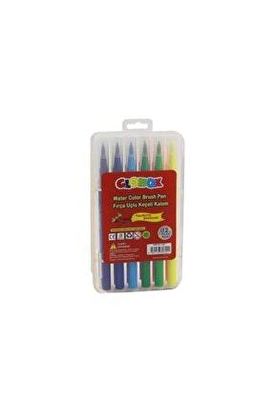 Fırça Uçlu Keçeli Kalem 12 Renk 2602