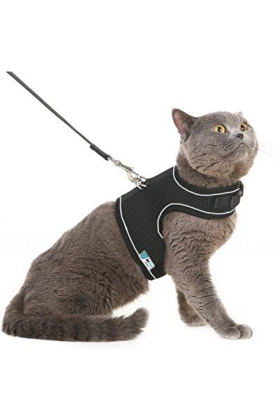 BYPET Yeni Nesil Nefes Alabilen Kedi Göğüs Tasması Seti