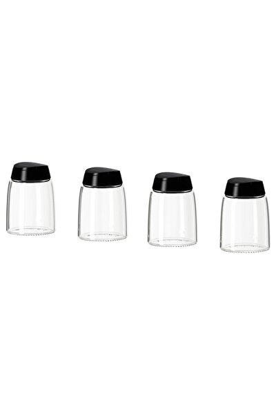 IKEA 365+ Ihardig Cam Baharat Kavanozu 4 Adet