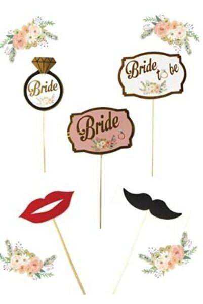 BALONCU PARTY DÜNYASI Bride To Be Konuşma Balonu Varaklı 5'li