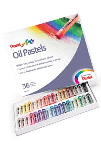 Pentel Arts Oil Pastels 36 Renk Yağlı Pastel Boya Seti