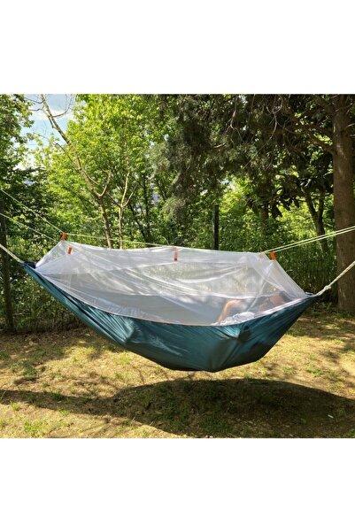 ustuneyok Cibinnikli Kamp Hamağı - Dayanıklı Baglama Ipli - Tek Kişilik Outdoor Hamak