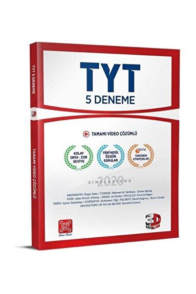 3D Yayınları Tyt 5'li Genel Deneme Yeni Nesil Video Çözümlü