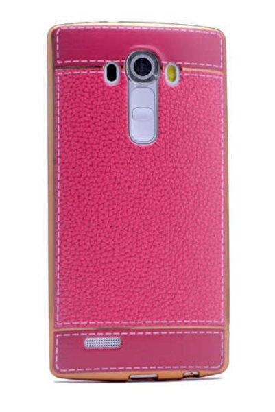LG G3 Kılıf Tam Koruma Deri Lazer Kaplama Silikon