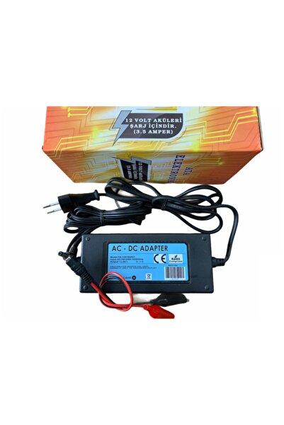 ATAEXPRESS 12v 12 Volt Kuru Tip Akü Oyuncak Akülü Araba Akü Pil Batarya Şarj Adaptör Voltaj Kesici 3.5 Amper