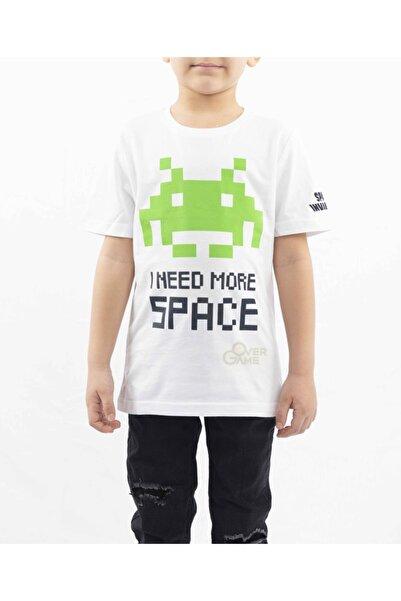 ATARI Space Invaders I Need More Space Beyaz Çocuk T-shirt-lisanslı
