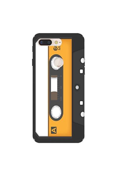 General Mobile Gm 9 Pro Pure Modern Desenli Silikon Kılıf Muzik Kaset