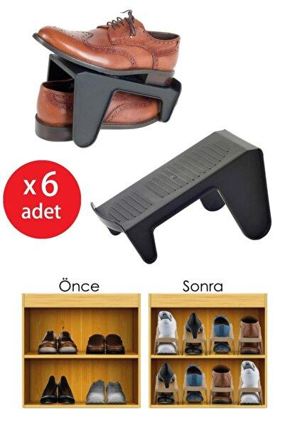 Meleni Home 6'Lı Ayakkabı Düzenleyici Rampa