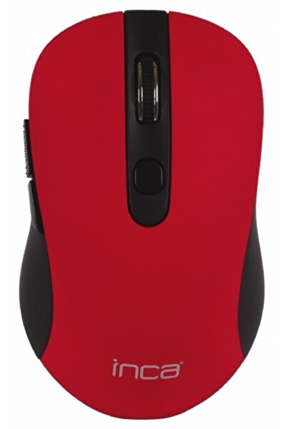 Inca Iwm-233rk 1600 Dpi Sessiz Kablosuz Mouse Kırmızı