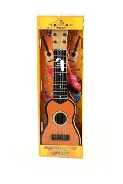 aslan oyuncak Ispanyol Gitar Kahverengi
