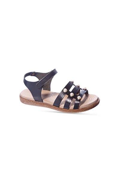 Sanbe 31 - 36 Kız Çocuk Ortopedik Deri Sandalet
