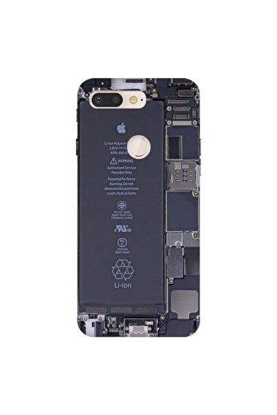 General Mobile Gm 9 Pro Pure Modern Desenli Silikon Kılıf Iphone Mekanik