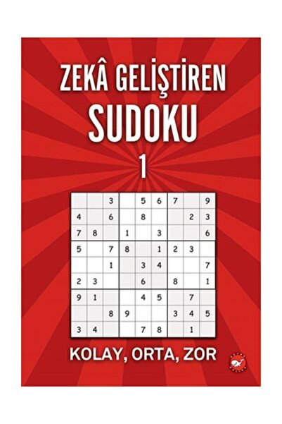Beyaz Balina Yayınları Zeka Geliştiren Sudoku 1 Ramazan Oktay