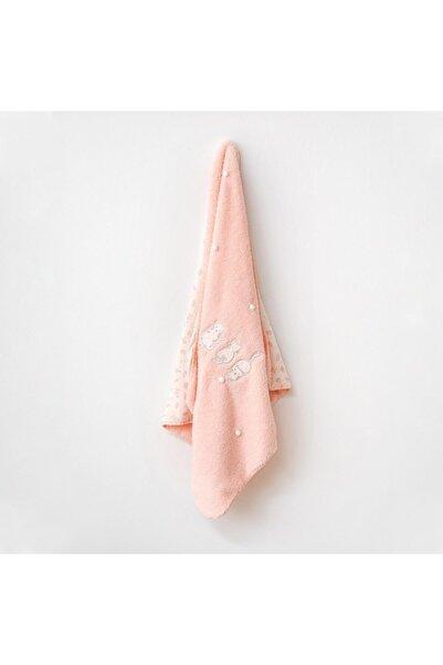 andywawa Ac21113 Meow Welsoft Bebe Battaniye Pink