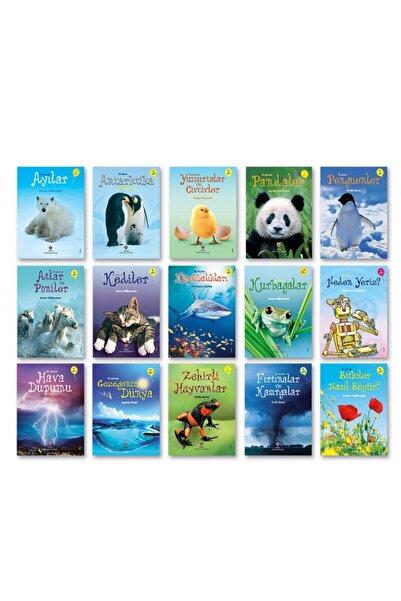 Tübitak Yayınları Tübitak Popüler Bilim Ilk Okuma Kitapları 15 Kitap Set (7+ Yaş) Set 2