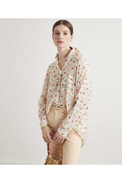 İpekyol Çiçek Baskılı Gömlek