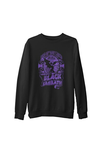Lord T-Shirt Unisex Siyah Black Sabbath   Kalın Sweatshirt