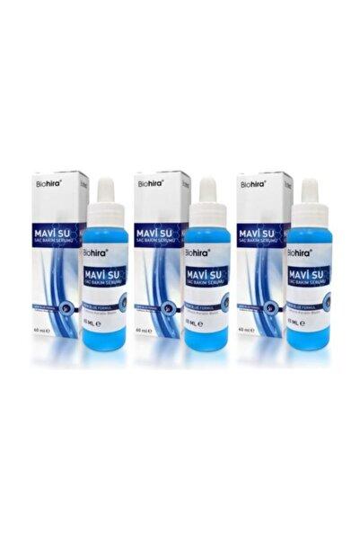 Bio Hira Biohira Mavi Su Saç Bakım Serumu 3 Adet  60 ml.