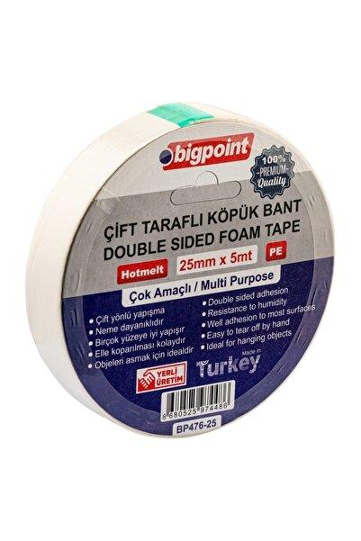Bigpoint Çift Taraflı Köpük Bant 25mmx5m
