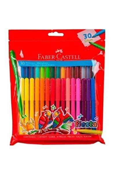 Faber Castell Fiesta 30'lu Keçeli Kalem