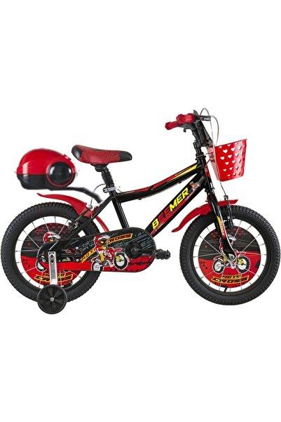 Bmx 16 Jant Çocuk Bisikleti 3-4-5-6-7-8 Yaş Çocuk Bisikleti Kırmızı Siyah