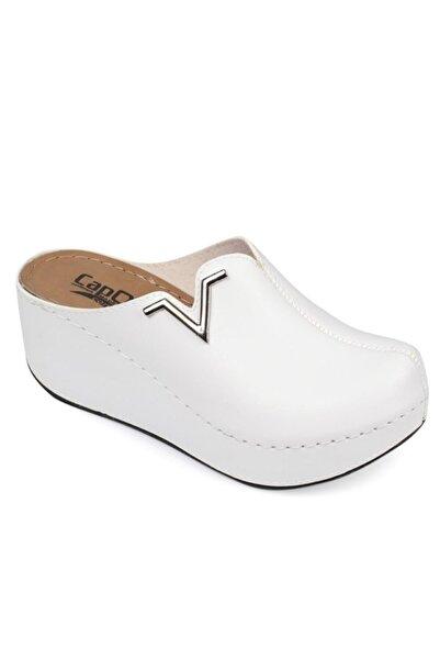 Capone Outfitters Kadın Beyaz Sabo Terlik Z6188