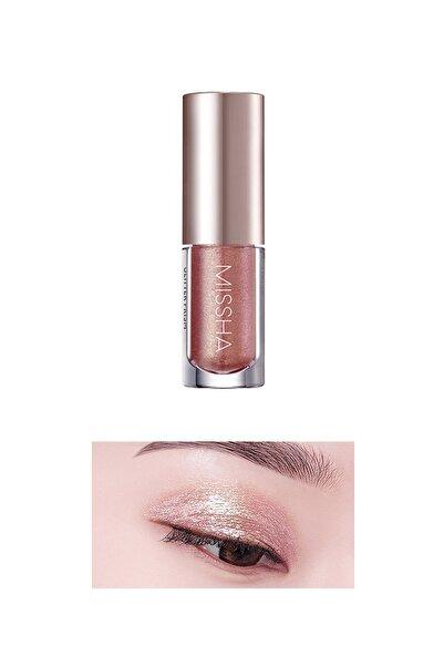 Missha Işıltılı ve Parlak Glitter Likit Göz Farı No.4 Eternal Rose Prism Liquid Eyeshadow Shine