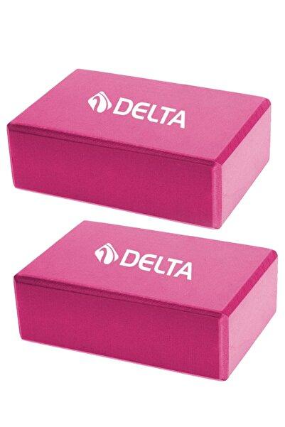 Delta Çiftli Yoga Blok - 2 Adet Yoga Block - Eva Yoga Bloğu Seti