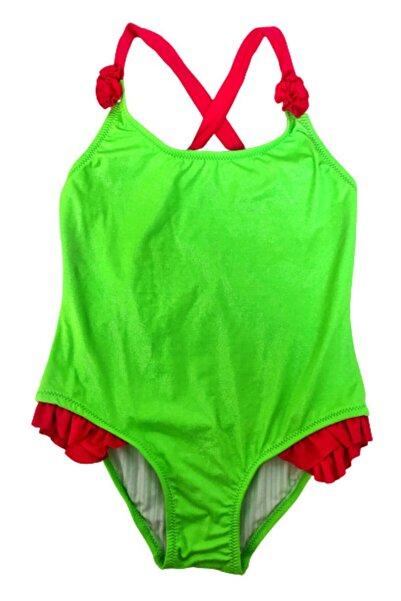 Solliente Kız Çocuk Çapraz Askılı Pırıltılı Mayo