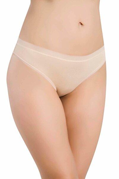 bejamonti Kadın Şeffaf Lastik Micro Modal Bikini Külot 3'lü