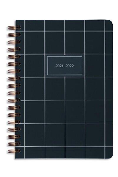 Matt Notebook 2021-2022 Yılı Akademik Ajanda 16 Aylık Koyu Yeşil