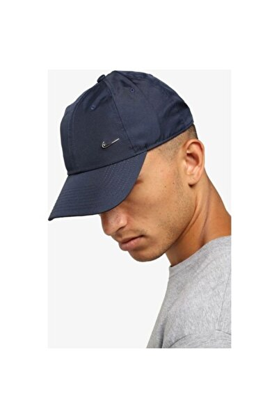 Nike Sportswear Heritage 86 Mavi Unisex Şapka - 943092-451