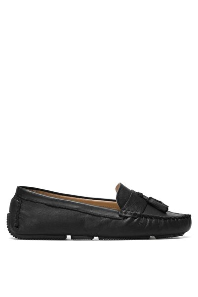 Nine West Yujıx 1fx Siyah Kadın Loafer Ayakkabı