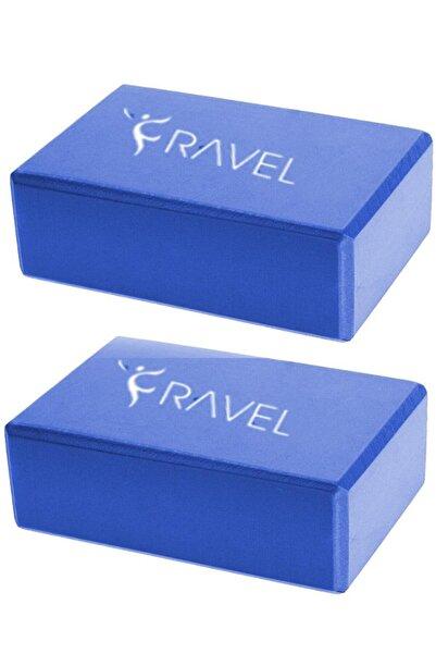 Ravel 2 Adet Yoga Blok - Çiftli Yoga Block - Eva Yoga Bloğu Seti