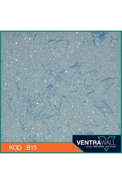 ventrawall Ipek Sıva Duvar Boyası Mavi B15