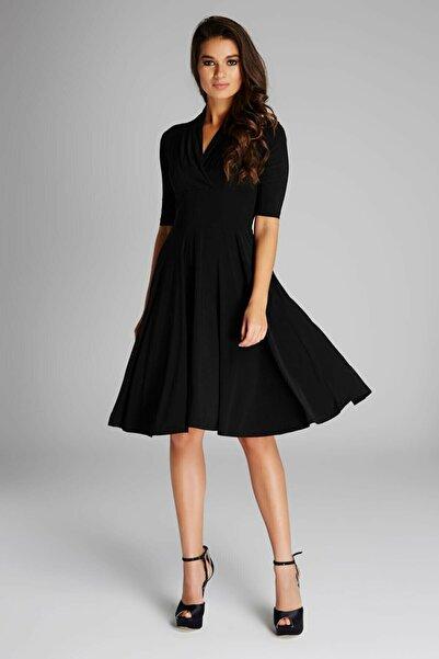 Laranor Yaka Detaylı Elbise