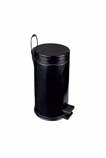 Maxiflow Standart Çöp Kovası Boyalı Siyah 12 Lt 18207