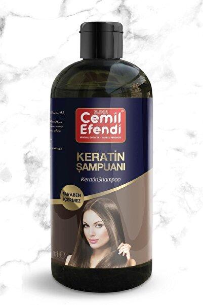 Cemil Efendi Bitkisel Keratin Şampuanı Silikon Paraben Içermez 400ml
