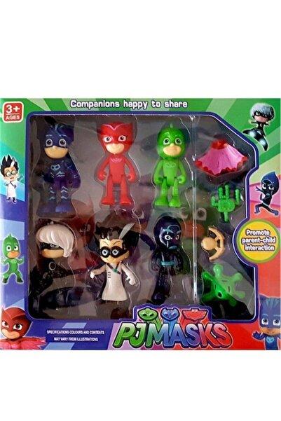 Pj Maskeliler Pj Masks 10'lu Pijamaskeliler Figür Oyuncak Seti