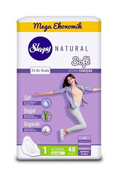 Sleepy Natural Soft Ekstra Yumuşak Normal 48 Ped