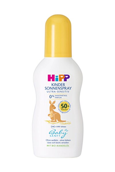Hipp Babysanft Sprey Güneş Kremi 50 Faktör 150 ml